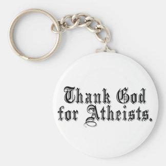 Thank God I'm an Atheist Key Ring