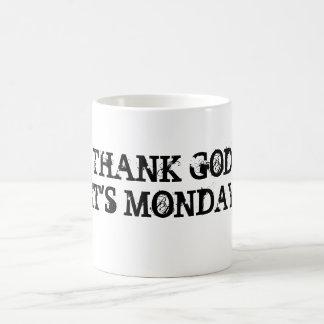 THANK GODIT'S MONDAY MUGS