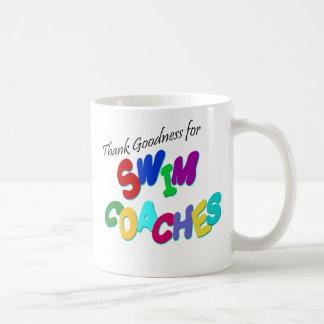 Thank Goodness for Swim Coaches Coffee Mug