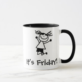 Thank goodness it's Friday mug