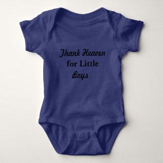 Thank heaven for Little Boys Baby Bodysuit