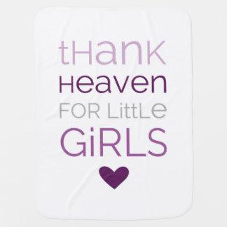 Thank Heaven for Little Girls 02 Baby Blanket
