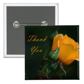 Thank You - 15 Cm Square Badge
