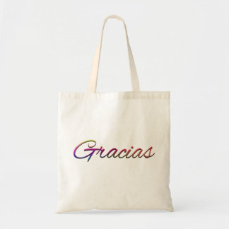 thank-you-394201  GRACIAS SPANISH LANGUAGE THANKFU Canvas Bags