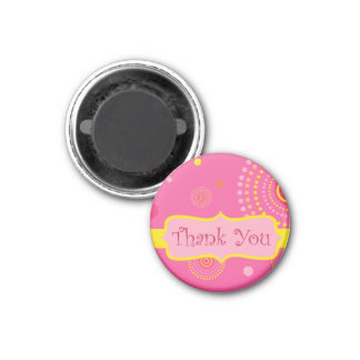 Thank You 3 Cm Round Magnet