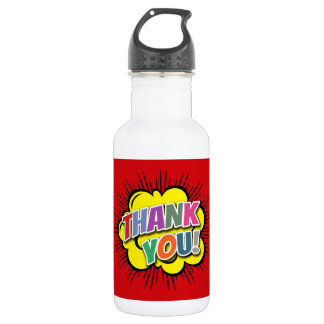 Thank You 532 Ml Water Bottle