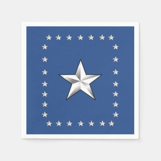 Thank You America Memorial Day Party Paper Napkins