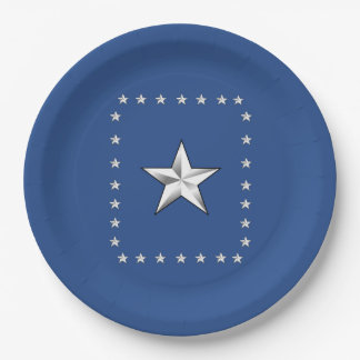 Thank You America Memorial Day Party Paper Plates 9 Inch Paper Plate
