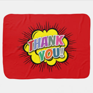 Thank You Baby Blanket