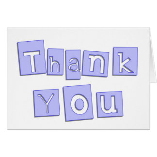 Thank You Baby Shower Note Card