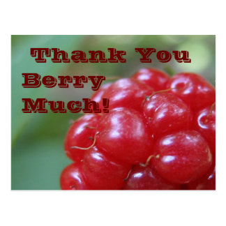 Thank You Berry Much! - Say it With a Very Postcard