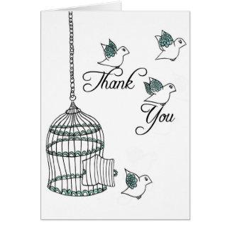Thank You Birds Card