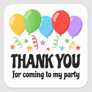 Thank You For Coming Stickers Zazzle Com Au
