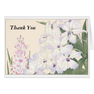 Thank You Blank Note Card with envelope
