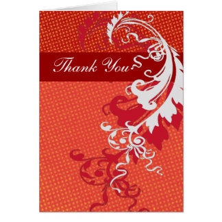 Thank You Bold Elegant Greeting Cards