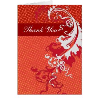 Thank You Bold Elegant Greeting Cards