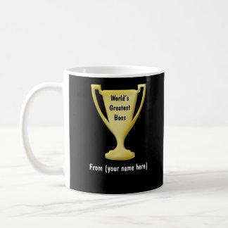 Thank You Boss Gift Mugs