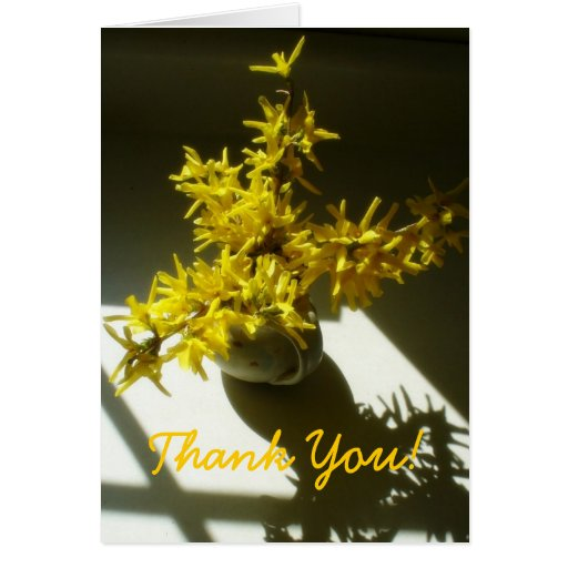 Thank You Bouquet Cards