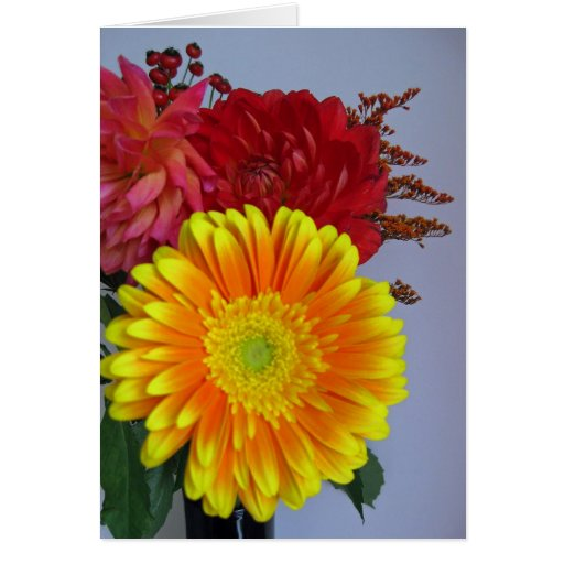 Thank You Bouquet Note Card