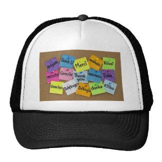 Thank you! cap
