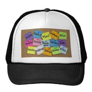 thank you cap