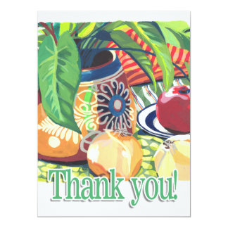 Thank You Card 17 Cm X 22 Cm Invitation Card