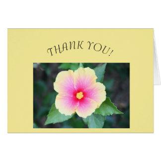 Thank You Card, blank inside Card