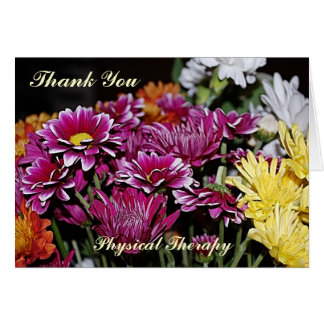 Thank You Card For Physical Therapy