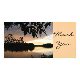 Thank You Card Personalised Photo Card