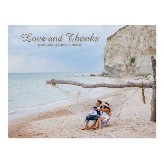 Thank You Card Photo, Wedding Thank You, Thank you