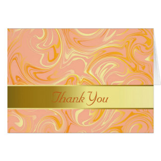 Thank You Card—Pink Celebration Card