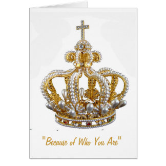 Thank You Card-Royalty Card