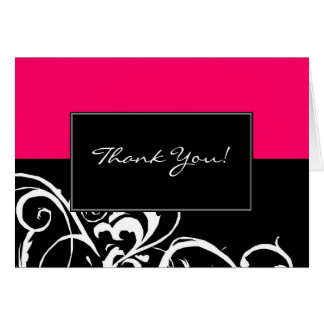 Thank You Card | Stylish Swirl