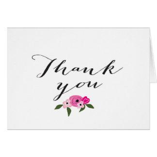Thank you Card - Wedding or Bridal shower