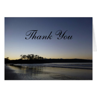Thank You Cards - Beach at Dawn