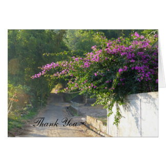 Thank You Cards - Bougainvillea