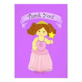 Thank You Cards~Girls Princess Party Custom Announcements