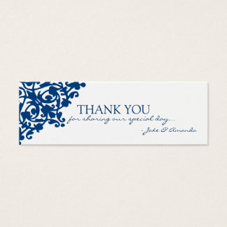 Thank You Cards | THANK YOU-whiteblue