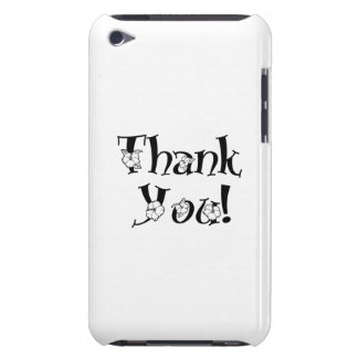 Thank You Barely There iPod Covers