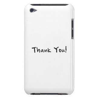 Thank You Barely There iPod Cases