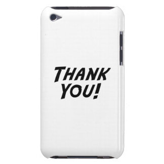 Thank You iPod Touch Case-Mate Case