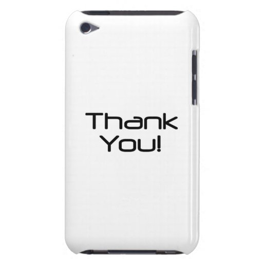 Thank You iPod Touch Cover