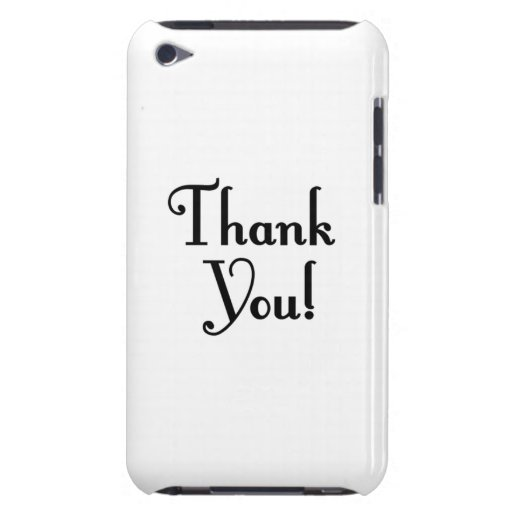 Thank You iPod Touch Cases
