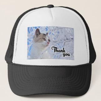 Thank You Cat Trucker Hat