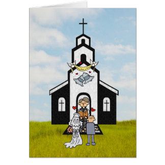 Thank you Clergyman Greeting Card