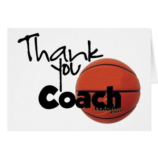 Thank You Coach, Basketball Cards