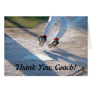 Thank You Coach! Card