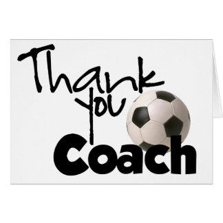Thank You Coach, Soccer Card