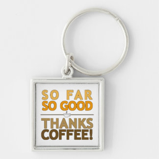 Thank You Coffee Key Ring