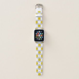 Thank You Come Again Smile Apple Watch Band